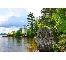 Lakeview Seat Photographic Print