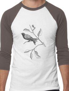 Hallway Bird Men's Baseball ¾ T-Shirt