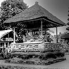Bali Shrine BW by DavidsArt