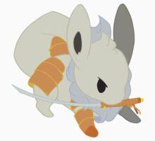 Warrior Pokemon: Shiny Eevee by Lawrence-Lore