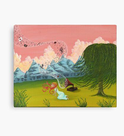 Musical Memories Canvas Print