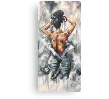 Undressed III Canvas Print