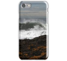 Waves Crashing on Rocky Shore iPhone Case/Skin