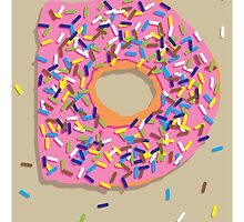 D is for Doughnut by Jason Jeffery
