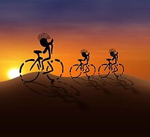Sunset Riders by Gravityx9