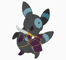 Warrior Pokemon: Shiny Umbreon by Lawrence-Lore