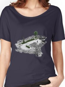 Martian Fictional Nature  Women's Relaxed Fit T-Shirt