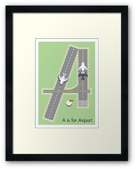 A is for Airport by Jason Jeffery
