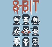 8-Bit By A Vampire Unisex T-Shirt