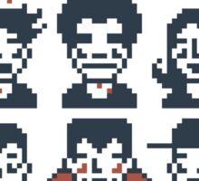 8-Bit By A Vampire Sticker