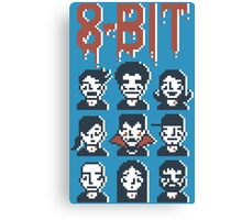 8-Bit By A Vampire Canvas Print