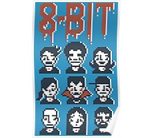 8-Bit By A Vampire Poster