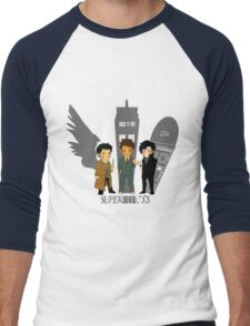 Superwholock Men's Baseball ¾ T-Shirt
