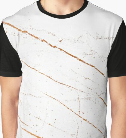 Rose Gold Marble #redbubble #decor  Graphic T-Shirt