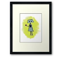 Frank Gives His Heart Framed Print