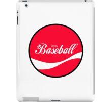 Enjoy Baseball iPad Case/Skin