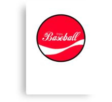 Enjoy Baseball Canvas Print