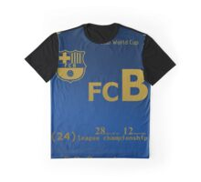 FCB over blue Graphic T-Shirt