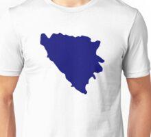 Bosnia and Herzegovina map Unisex T-Shirt