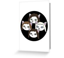 Meow rhapsody 2 Greeting Card