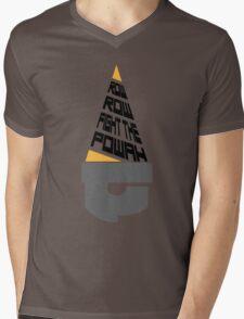Fight the Powah Mens V-Neck T-Shirt