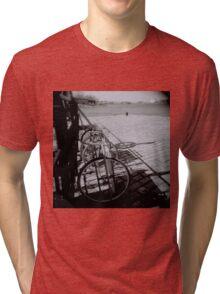 impressions of Suomenlinna -Helsinki Tri-blend T-Shirt