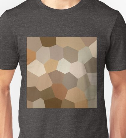 Pastel stained glass Unisex T-Shirt