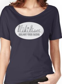 Enjoy the Ride Nihilism Rollercoaster Women's Relaxed Fit T-Shirt