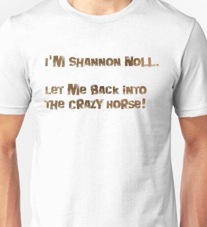 Shannon Noll Mock Unisex T-Shirt