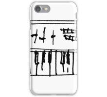 ribald keys iPhone Case/Skin