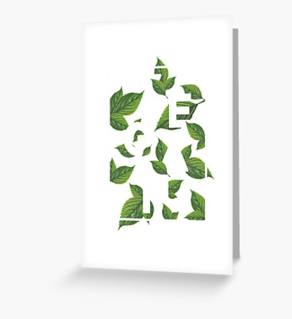 Vegan Greeting Card