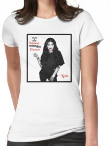 Kylie jenner qoute Womens Fitted T-Shirt