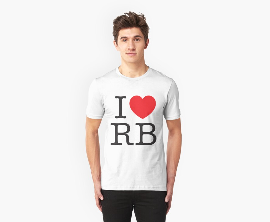 I Heart RB by Jason Jeffery