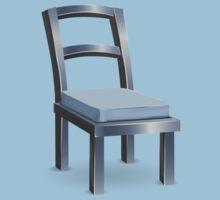 Glitch furniture chair basic metal chair One Piece - Short Sleeve