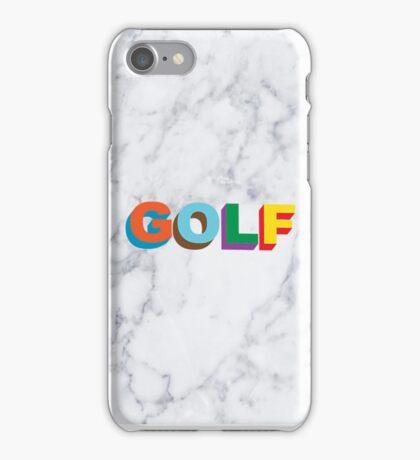 GOLF WANG MULTI-COLOR 3D LOGO iPhone Case/Skin