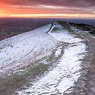 Dawn at Pinnacle Hill, Malvern, England by Cliff Williams