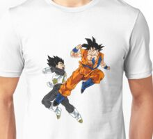Goku vs Vegeta Unisex T-Shirt