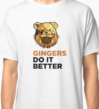 ROBUST Ginger bears black Classic T-Shirt