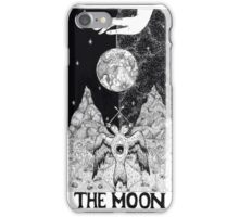 The Moon Tarot Card iPhone Case/Skin