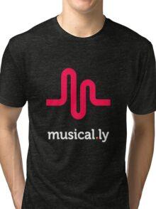 musically logo Tri-blend T-Shirt