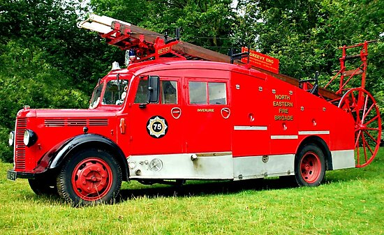 The Inverurie Fire Brigade by oulgundog