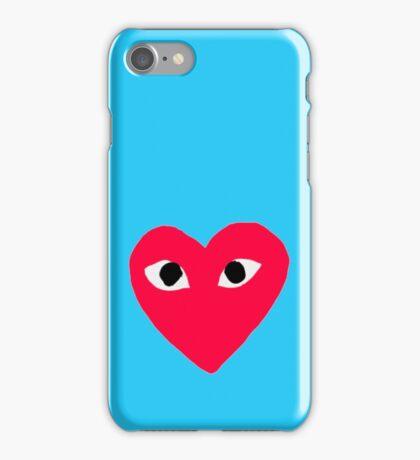 Comme des Garçons Heart  iPhone Case/Skin