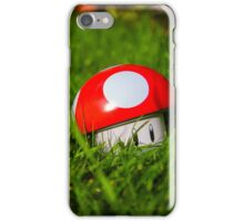 Mushroom in the Grass iPhone Case/Skin