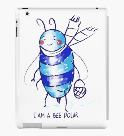 bee polar iPad Case/Skin