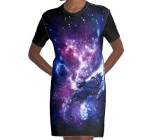 You Can't Take The Sky From Me Graphic T-Shirt Dress