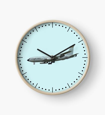 KC135A Stratotanker on Blue b/g and dash dial markings Clock