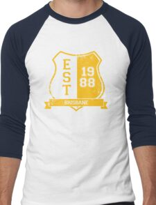 Brisbane Rugby League: Established Shield Men's Baseball ¾ T-Shirt
