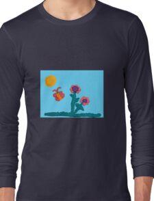 Jewelie's Garden Long Sleeve T-Shirt
