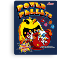 Power Pellets Canvas Print