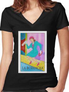 La Boracha Women's Fitted V-Neck T-Shirt